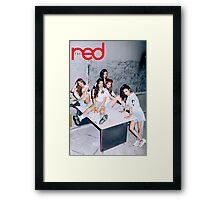 red velvet the red Framed Print