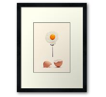 Born to be fried Framed Print
