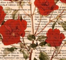 Red Roses on Corinthians Sticker