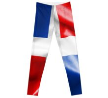 Dominican Republic Flag Leggings