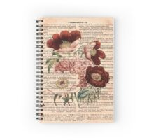 Flowers on Corinthians Spiral Notebook