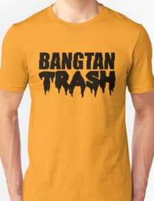 BTS/Bangtan Boys Trash Text Unisex T-Shirt