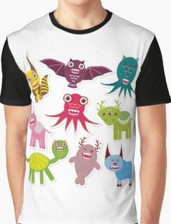 Funny monsters Graphic T-Shirt