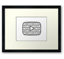 Youtube Gaming Logo Framed Print