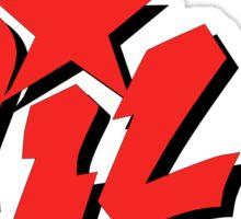Wild - Red Sticker