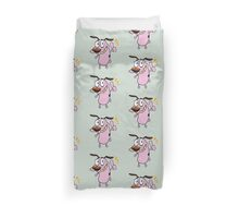 good Courage dog Duvet Cover