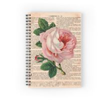 Pink Roses on Corinthians Spiral Notebook