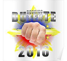 Duterte Campaign Design Illustration Poster