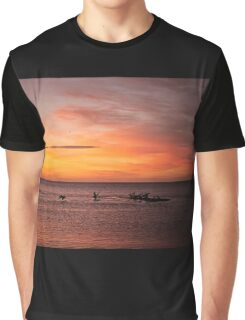 The Early Bird Watches the Sunrise Graphic T-Shirt