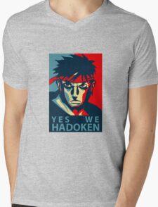 Street Fighter Mens V-Neck T-Shirt