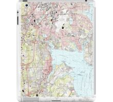USGS TOPO Map Rhode Island RI East Greenwich 353285 1996 24000 iPad Case/Skin
