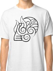 ATLA Elemental Unity Classic T-Shirt