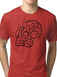 ATLA Elemental Unity Tri-blend T-Shirt