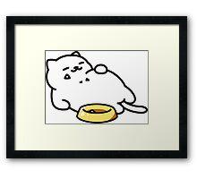 Neko Atsume Framed Print