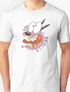 crazy Courage the Cowardly dog T-Shirt