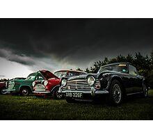 Vintage British Classic Cars Photographic Print