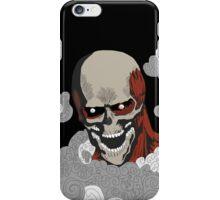 eren titan skeleton  iPhone Case/Skin