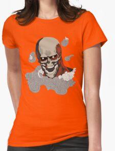 eren titan skeleton  Womens Fitted T-Shirt
