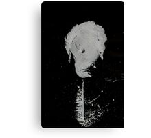 0059 - Brush and Ink - Matchstick Two Canvas Print