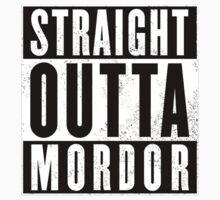 Straight Outta Mordor Kids Tee