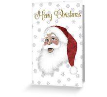 Santa Pere Noel Greeting Card