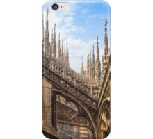 a forest of sculptures. Duomo. Milano. iPhone Case/Skin