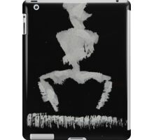0054 - Brush and Ink - Burning Fibres iPad Case/Skin
