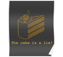 The cake is a lie! (fanart) Poster