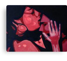 my heart in her hands Canvas Print