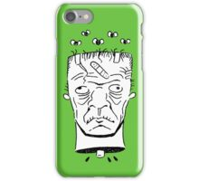Frankenstein's Monster Head iPhone Case/Skin