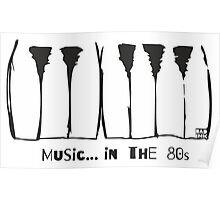 Music in the 80s Poster