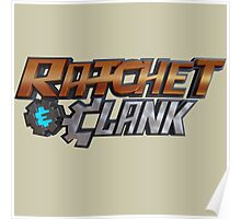ratchet and clank logo Poster