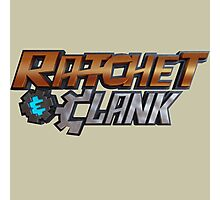 ratchet and clank logo Photographic Print