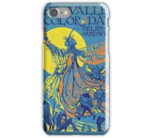 The Valley of Color Days Book iPhone Case/Skin