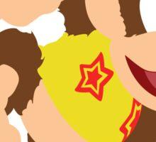 Diddy (Yellow) - Super Smash Bros. Sticker