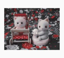 Sylvanian Families ~ Cat Babies One Piece - Short Sleeve