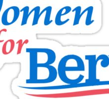 Women for Bernie 2016 Sticker