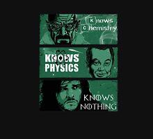 Breaking Bad vs Big Bang Theory and Know Sciense Walter Unisex T-Shirt