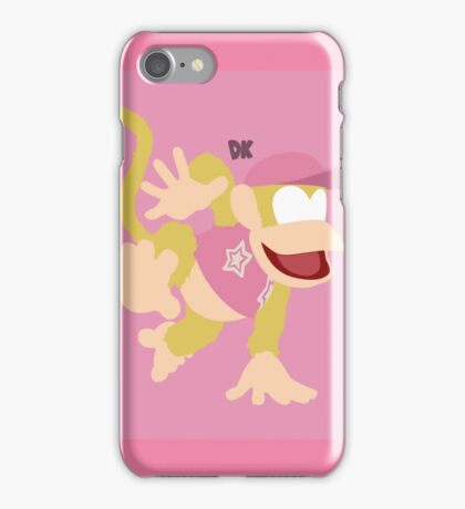 Diddy Kong (Dixie) - Super Smash Bros. iPhone Case/Skin