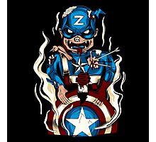 Captain Zoomerica Photographic Print