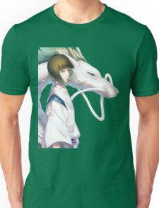 Haku the Dragon  Unisex T-Shirt