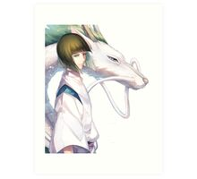 Haku the Dragon  Art Print