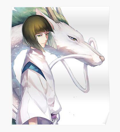 Haku the Dragon  Poster