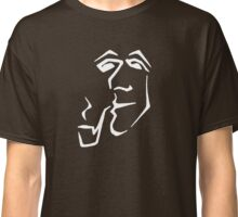 Man With Pipe (white) Classic T-Shirt