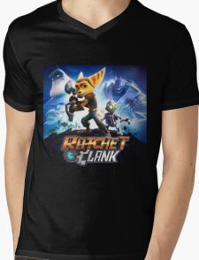 Ratchet and clank the movie Mens V-Neck T-Shirt