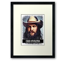 Chris Stapleton Framed Print