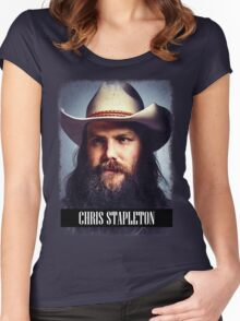 Chris Stapleton Women's Fitted Scoop T-Shirt
