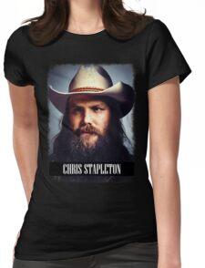 Chris Stapleton Womens Fitted T-Shirt
