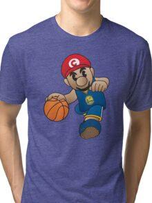 Mario Curry Tri-blend T-Shirt