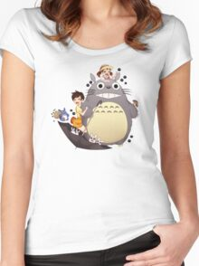 Totoro  Women's Fitted Scoop T-Shirt